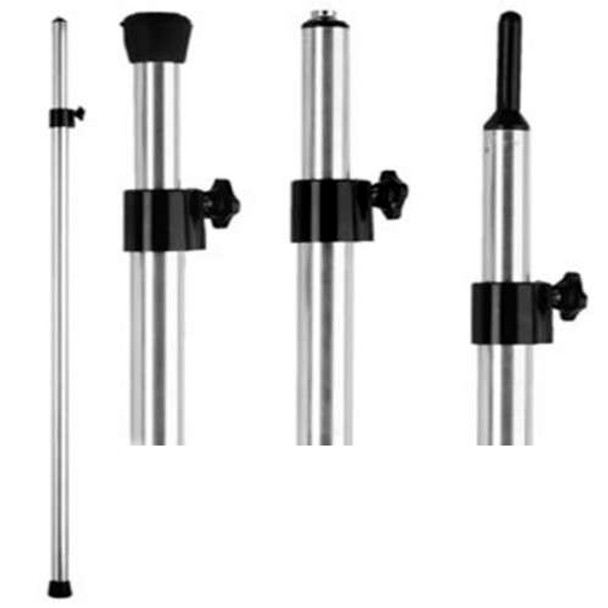 """Attwood 3-in-1 Adjustable Boat Cover Support Poles 36"""" to 64""""  10707-5"""