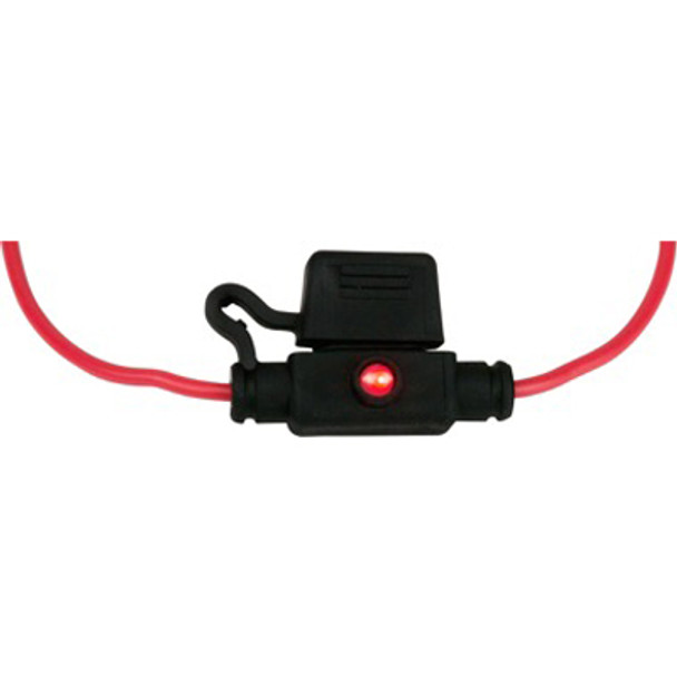 Sea Dog ATM Mini Style Inline LED Fuse Holder  445097-1