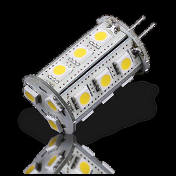 Lunasea G4 Bottom Pin 18 LED Light Bulb  21EC LLB-21EC-21-00