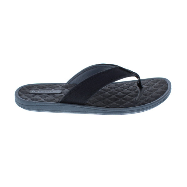 Body Glove Men's Montego Flip Flop Sandals (Black)