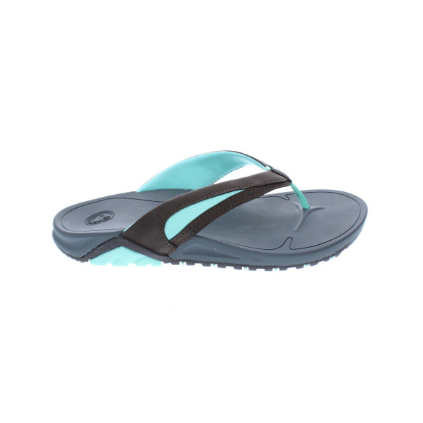 Body Glove Women's Sway Flip Flop Sandals (Brindle/Glacier Mint)