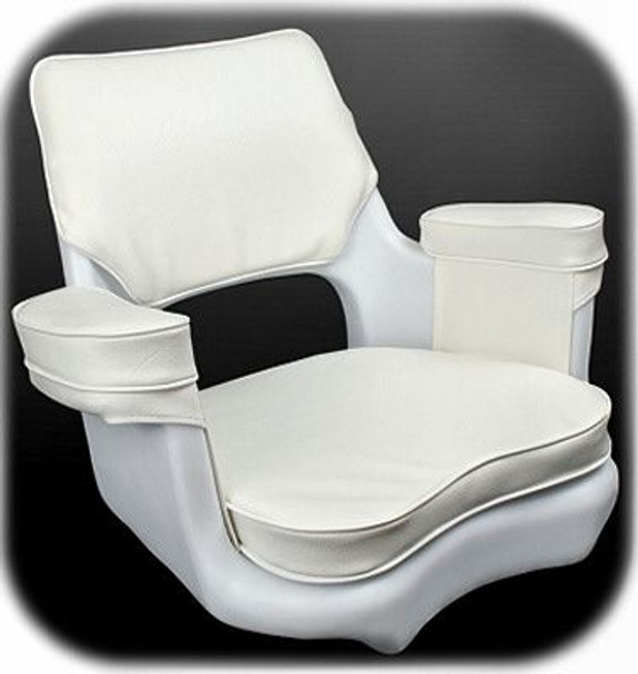 Todd Cape Cod Helm Seat (w/ Cushion)