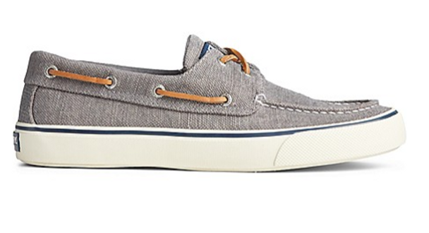 Sperry Men's Bahama II Distressed Sneaker (Dark Grey)