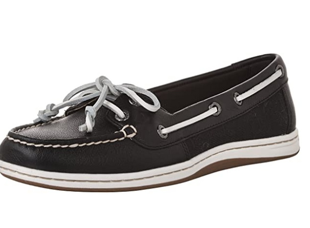 Sperry Firefish Black Boat Shoes
