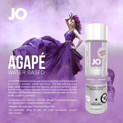 System Jo Agape Water Based Lubricant