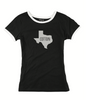 Women's Cotton Texas Ringer Tee