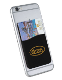Cotton Cell Phone Card Wallet