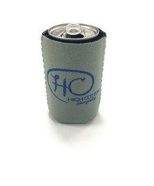 High Cotton, Grey/Blue Koozie