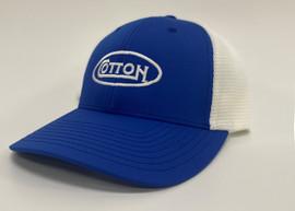 Cotton Royal Blue Hat