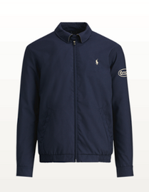 Cotton, Polo Wind Jacket, Navy