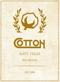 Cotton, Red Blend Wine