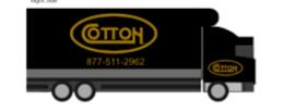 Cotton Box Truck USB - 8 gb