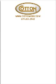 "Cotton Notepad - 5""x7"""