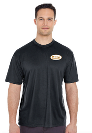 Cotton Performance Shirt, Black