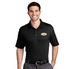 Cotton Collar Shirt, Black