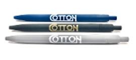 Cotton Rubberized Pen, color options