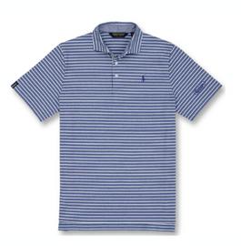 Cotton, Polo- Striped Oxford Knit