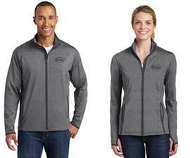 Cotton, Performance Zip-Up Jacket