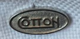 Cotton, Cufflink Set, Cotton Oval