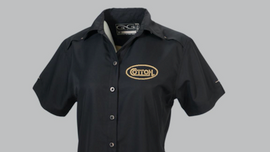 Cotton, Ladies Game Guard, Caviar