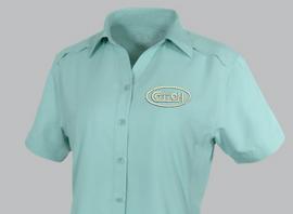 Cotton, Ladies Game Guard, Seaglass