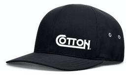 Cotton, Flex Fit Hat, Black