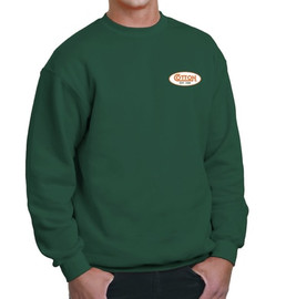 Cotton Sweatshirt, Green