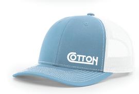 Cotton, Richardson Blue Hat
