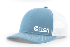 Cotton, Richardson Blue Hat