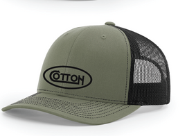 Cotton , Richardson Hat, Loden Green/Black