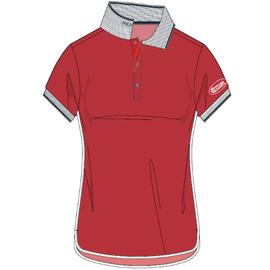 Cotton, Red RL Polo-Ladies