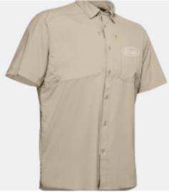 Men's Under Armour Performance Tide Shirt - Tan
