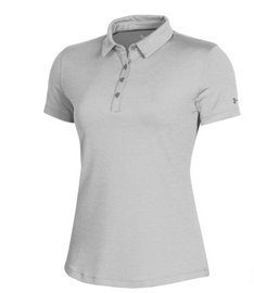 Ladies Under Armour Collared Shirt - Grey