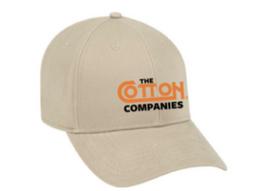 Cotton 25th  Anniversary hat,  Khaki