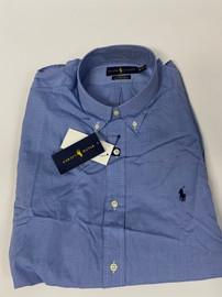 Men's RL Button Down- Blue