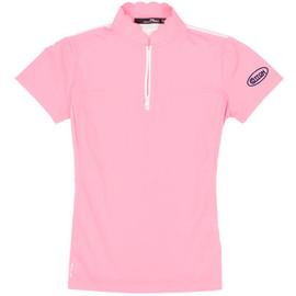 Lady's RLX Scalloped Polo - Pink