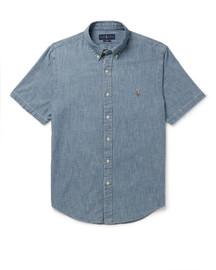 Men's RL Short Sleeve Chambray Shirt