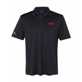 Game Day Black and Red Polo Shirt