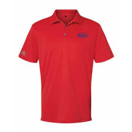Game Day Red and Navy Polo Shirt