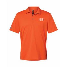 Game Day Orange and White Polo Shirt
