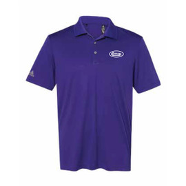 Game Day Purple and White Polo Shirt