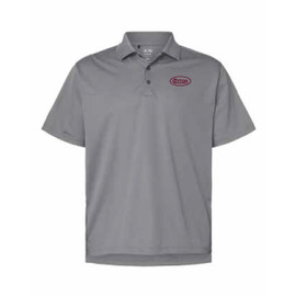 Game Day Grey and Maroon Polo Shirt