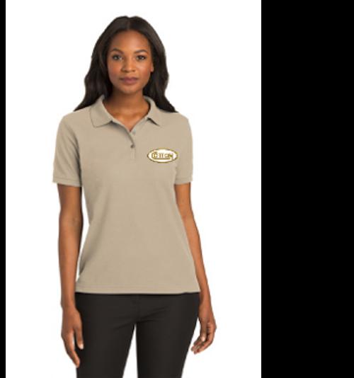 Cotton Collar Shirt- Ladies, Tan