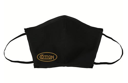 Cotton, Face Mask, Black
