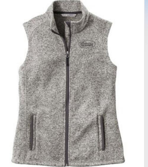Cotton, Port Authority Sweater Fleece Women's  Vest