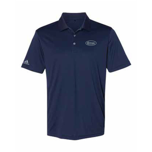 Game Day Navy and Silver Polo Shirt