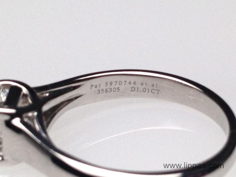 7e271e764 Platinum Lucida Cut Diamond Solitare Ring; Tiffany and Co. Platinum Lucida  Cut Diamond Solitare Ring ...