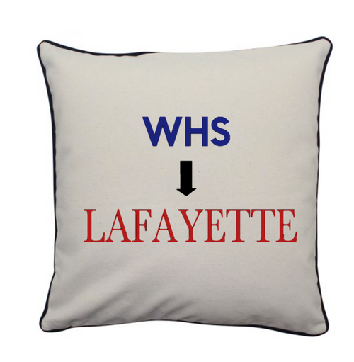 Pillow 16x16 High School to College
