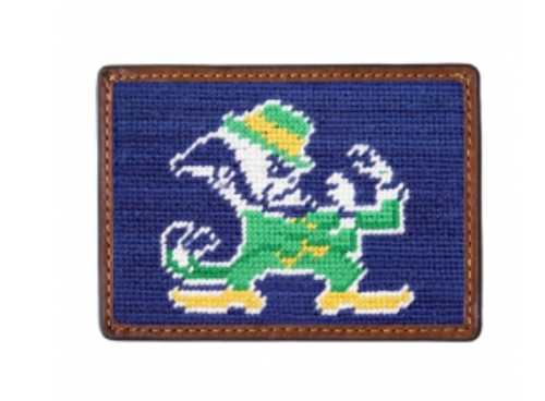Wallet Needlepoint Credit Card - Notre Dame