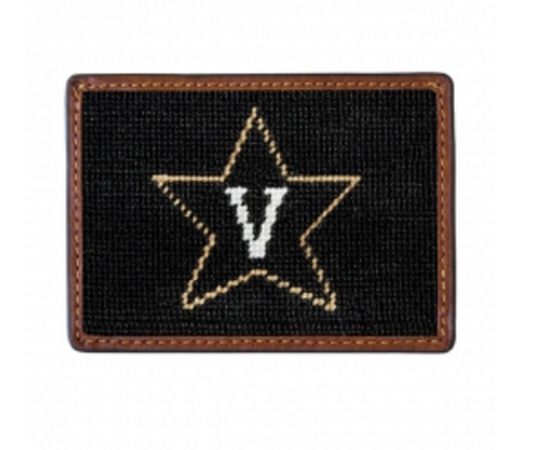 Wallet Needlepoint Credit Card - Vanderbilt University
